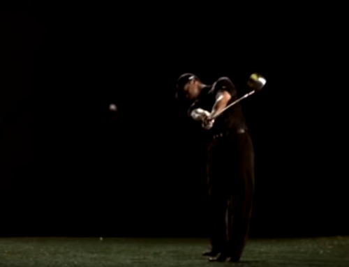 Swing Analysis Front – Tiger Woods