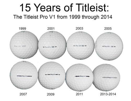 Titlist Pro V1 Ball History