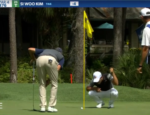 Si Woo Kim's unlikely par ruling after birdie putt eventually drops at RBC Heritage